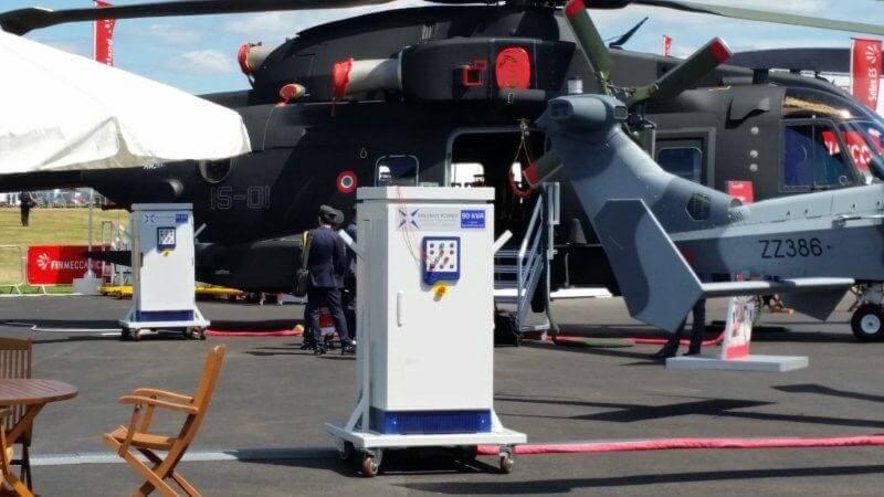 sinepower ground power unit Farnborough Airshow