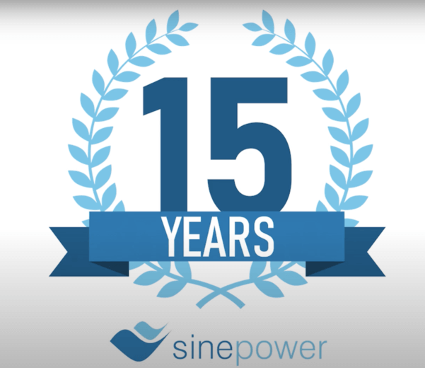 sinepower celebrates 15 years